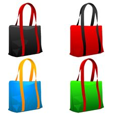 Free Set Of Shopping Bags. Stock Photo - 15131790