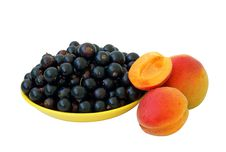 Free Black Currant And Apricots Royalty Free Stock Image - 15132316