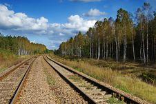 Free Railway Line Stock Images - 15132854