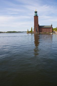 Stockholm City Hall Building Stock Photography