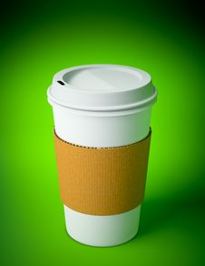 Free Disposable Coffee Cup Stock Photography - 15133852