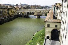 Florence With Ponte Veccio Stock Image