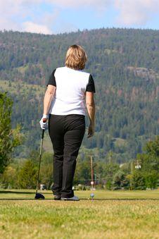 Free Female Golfer Stock Photos - 15134653