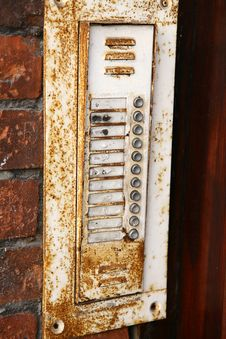 Free Old Intercom Royalty Free Stock Photo - 15134785