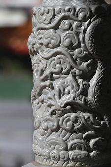 Free Chinese Stone Pillar Stock Images - 15134944