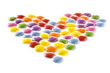 Free Candy Heart Royalty Free Stock Photos - 15135038