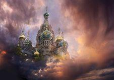 Free Kremlin In The Sky Stock Image - 15135391