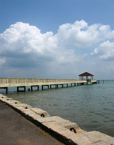 Free Afternoon At The Jetty Stock Photo - 15136970