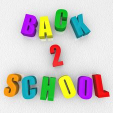 Free Back 2 School - Refrigerator Magnets Stock Image - 15137171