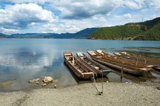 Free Lugu Lake Stock Image - 15137221