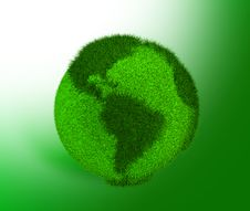 Free Green Earth Royalty Free Stock Images - 15137769