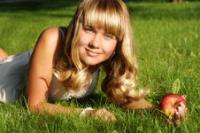 Free A Beautiful Young Blonde Stock Photo - 15138710