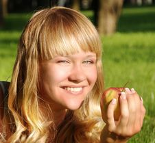 Free A Beautiful Young Blonde Stock Photography - 15138732