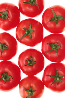 Free Tomatoes, Isolated. Stock Image - 15138771