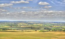 HDR Of Dunstable Downs Stock Photos