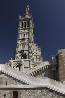 Free Detail Of Notre-Dame Tower In Marseille Stock Images - 15139404