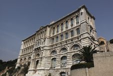 Free Building Of Oceanographic Museum In Monaco Stock Photography - 15139492