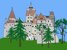 Free Bran Castle, Romania Royalty Free Stock Photos - 15139808