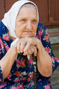 Free Portrait Of The Old Woman Stock Photography - 15140832
