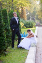 Free Bride And Groom Royalty Free Stock Photography - 15145137