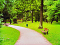 Free Park In Spring Time Royalty Free Stock Images - 15149969