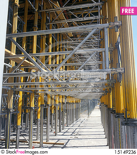 Free Construction Site. Royalty Free Stock Image - 15149236