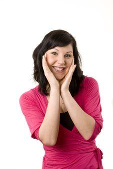 Free Friendly Female Portrait Stock Image - 15140811