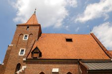 Church Of Sts. Cross In Cracow Royalty Free Stock Image