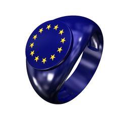 Free Ring With Symbol European Union 01 Stock Photos - 15141083
