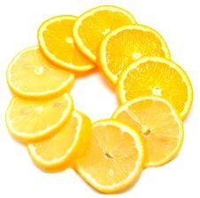 Free Juice Orange With Lemon Royalty Free Stock Photos - 15141218