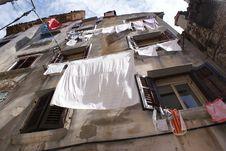 Hanging Washing Stock Image