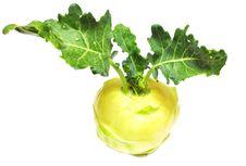 Free Green Kohlrabi Cabbage Royalty Free Stock Photo - 15141275