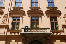 Free House On The Old City In Cracow Royalty Free Stock Photo - 15141335