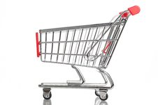 Free Shopping Cart Stock Image - 15141921