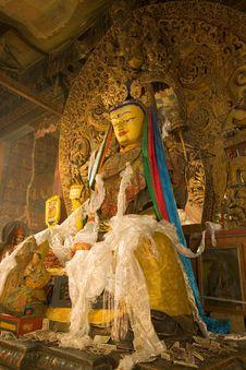 Free Baiqoi Monastery Buddha Royalty Free Stock Photos - 15142288