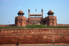 Free India, Delhi, The Red Fort Royalty Free Stock Photos - 15143188