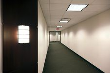 Empty Office Building Hallway Royalty Free Stock Image