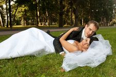 Free Bride And Groom Stock Image - 15145161