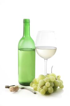 Free White Wine Composition Stock Photography - 15145332