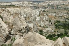 Free Cave-town In Cappadocia, Turkey Stock Image - 15145391