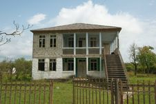 Free Empty Houses In Abkhazia Royalty Free Stock Photography - 15145687