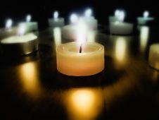 Free Burning Candles Stock Photos - 15146153