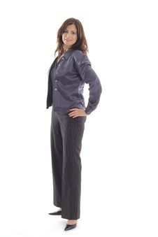 Free Business Woman Pose Royalty Free Stock Image - 15146726