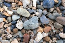 Free River Stones Close Up Royalty Free Stock Photo - 15147205