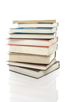 Free Books Stack Royalty Free Stock Photo - 15148515