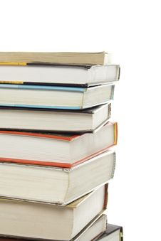 Free Books Stack Royalty Free Stock Photo - 15148535