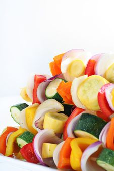 Free Vegetables Skewers Angle Royalty Free Stock Photo - 15148815