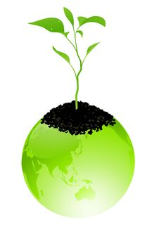 Free Green Earth Royalty Free Stock Images - 15148939
