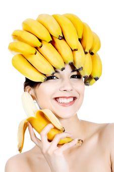 Free Bananas On Head Stock Image - 15149331