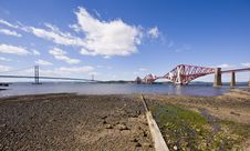 Edinburgh Bridges Royalty Free Stock Images